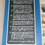 chalkboard, lettering ,menu