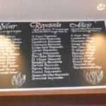 chalkboard, lettering, menu
