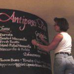 chalkboard, calligraphy, lettering