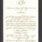 wedding, lettering, calligraphy