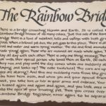 lettering, calligraphy, rainbowbridge